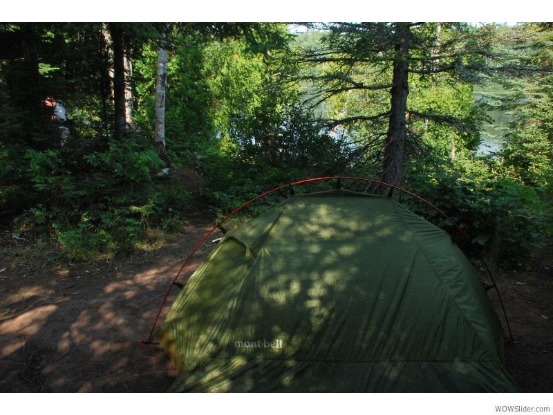 Camping in Isle Royale