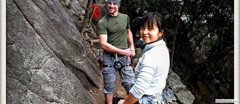Climbing in Hong Kong